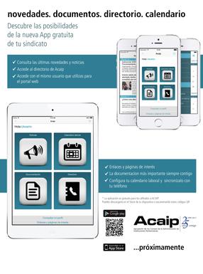 App móvil ACAIP