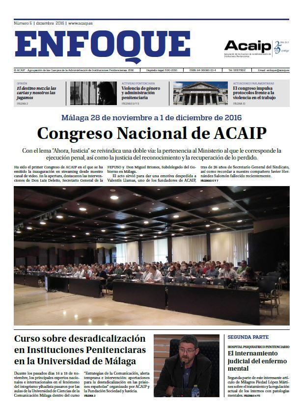 CONGRESO NACIONAL DE ACAIP (MALAGA 2016)