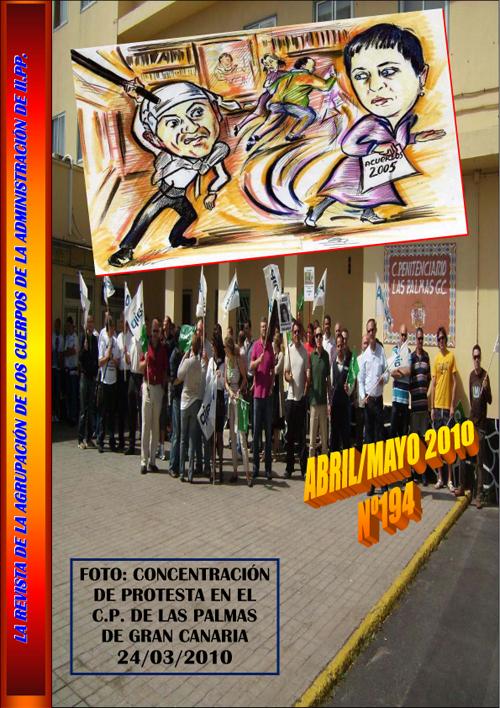 Concentración de protesta en C.P Las Palmas de Gran Canarias