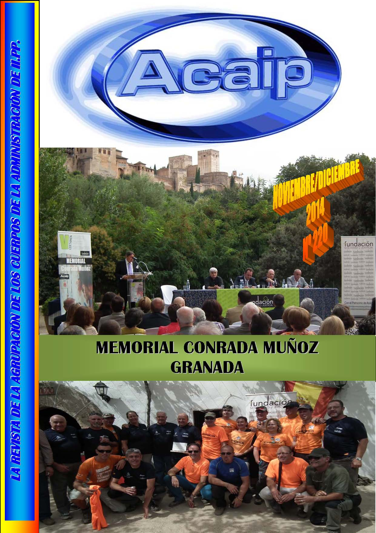 V MEMORIAL CONRADA MUÑOZ CELEBRADO EN GRANADA