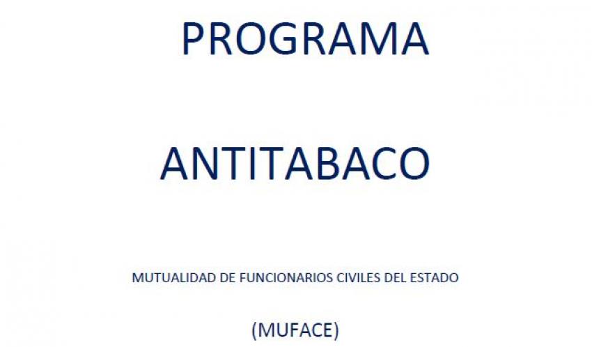 Programa Antitabaco MUFACE