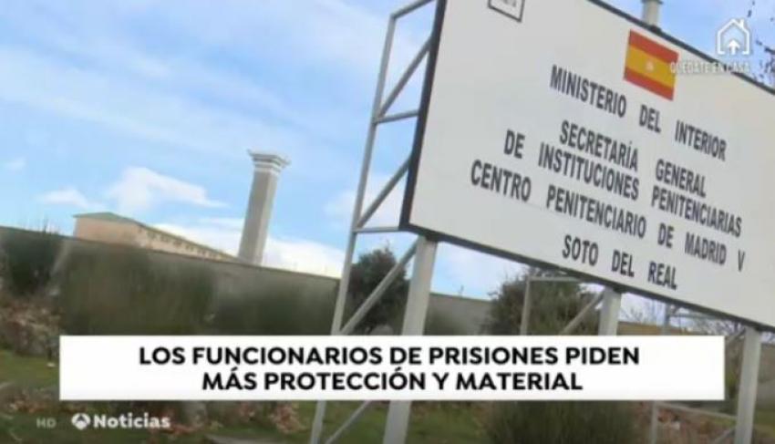 Solicitud mas medios en prisiones