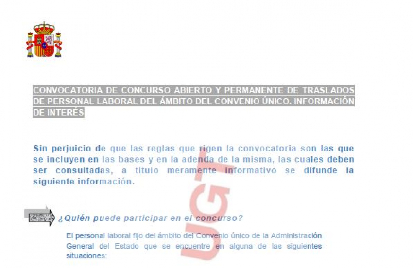 P.Laboral.- Concurso permanente (nota informativa e incidencias)