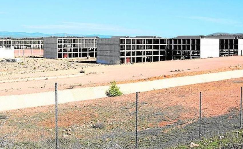 Las obras de la prisión de Siete Aguas llevan seis años paralizadas