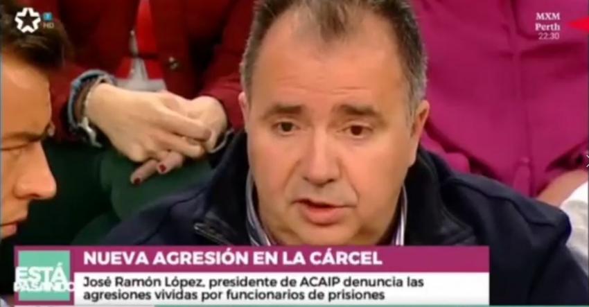 Intervención del presidente de Acaip en Telemadrid