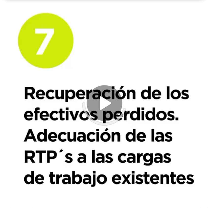 12 razones y medidas - 7. Recuperacion efectivos perdidos