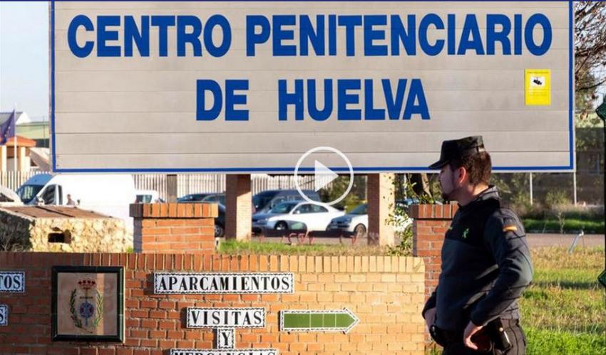 Un preso se corta el cuello porque no tenía adonde ir tras pasar 37 años en la cárcel de Huelva