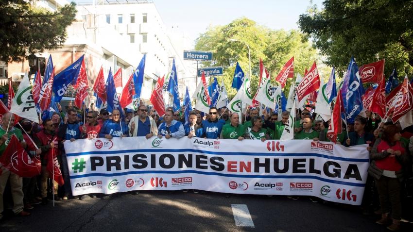Día 19 de Noviembre- Huelga en Prisiones
