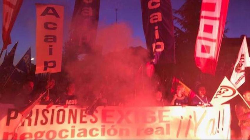 Los sindicatos de Prisiones seguirán movilizándose contra el Gobierno durante todo enero y febrero