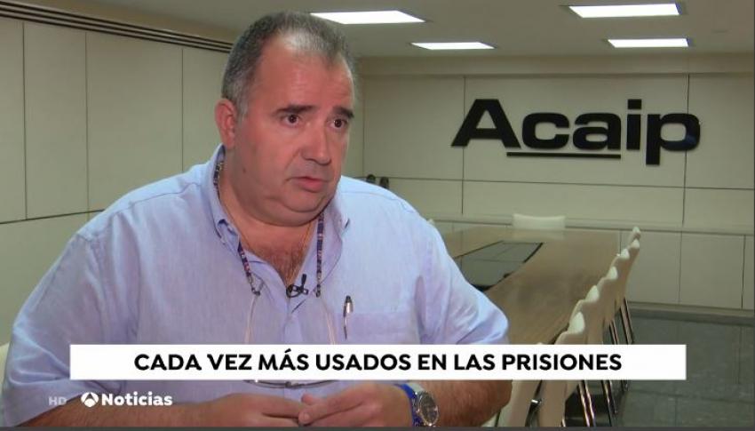 Presidente de Acaip interviene en Antena 3 Noticias