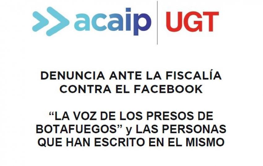 Acaip-Ugt Algeciras presenta denuncia ante la Fiscalía