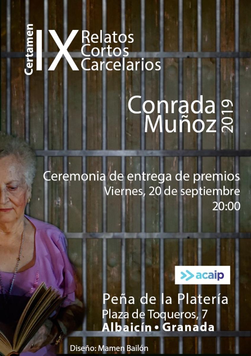 """IX Certamen relatos """"Conrada Muñoz"""""""