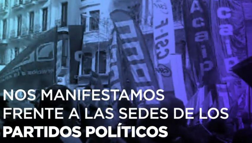 El pasado 11 de diciembre fuimos capaces de reunir a más de 10.000 personas en Madrid en busca de un cambio.