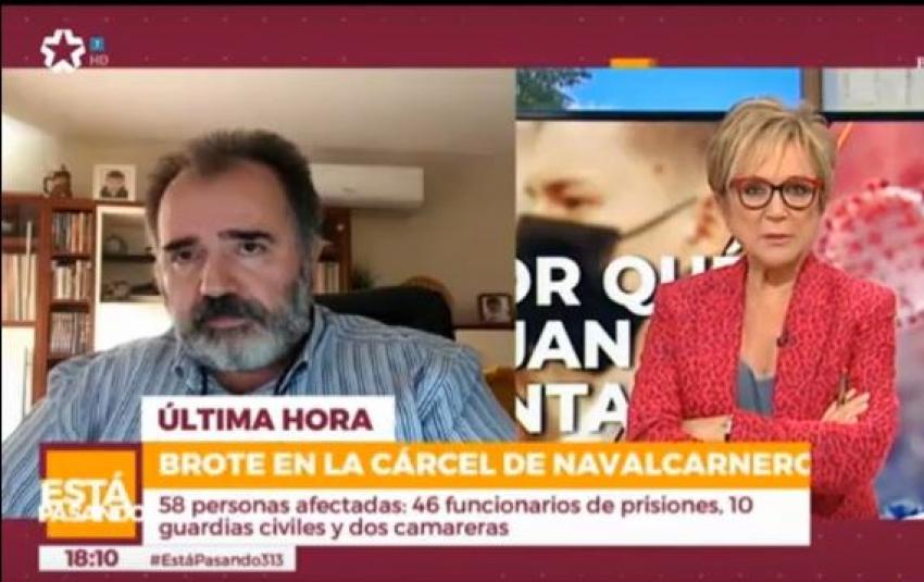 Entrevista presidente Acaip en Telemadrid