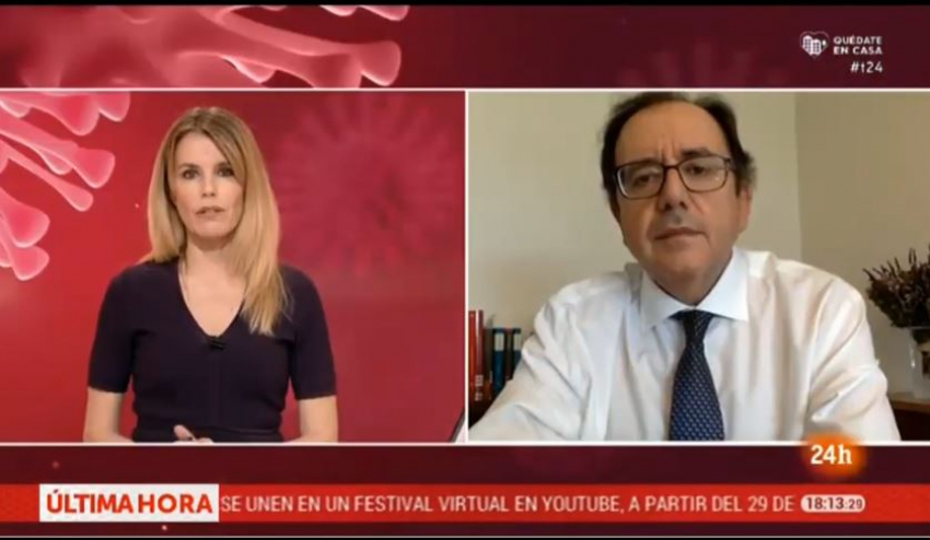 Intervención Secretario General de II.PP en 24 horas Noticias