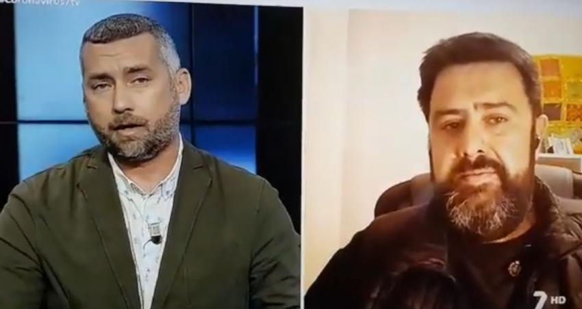 Intervención en TV 7 Region de Murcia