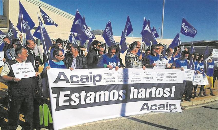Las agresiones en las cárceles de la provincia a funcionarios se duplican