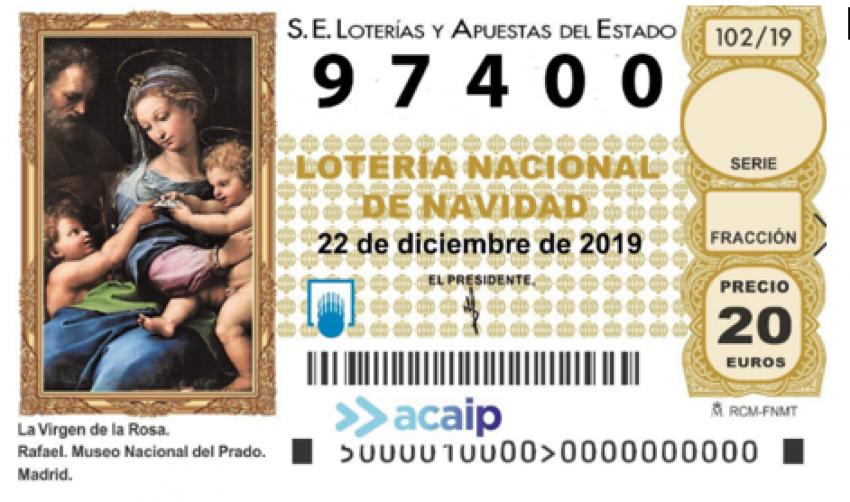 Loteria de navidad de Acaip