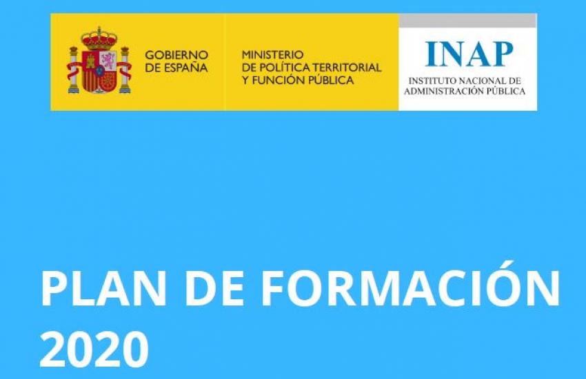 Plan de formación INAP 2020