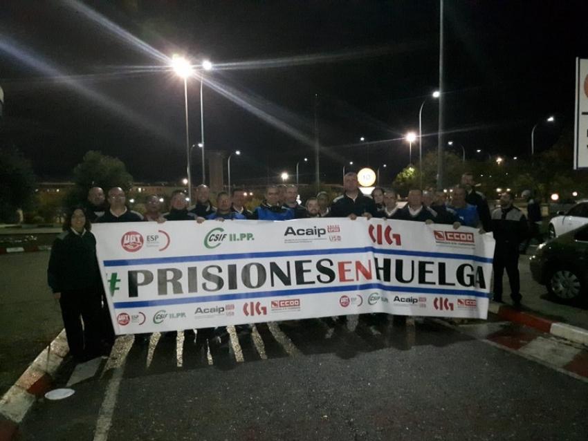 Día 20 de Noviembre - Huelga en Prisiones