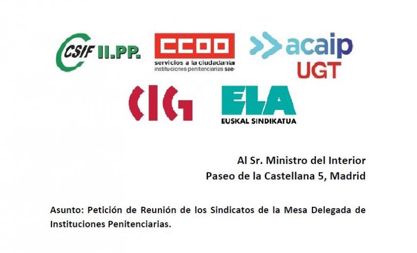 Plataforma sindical solicita reunión con Ministro del Interior