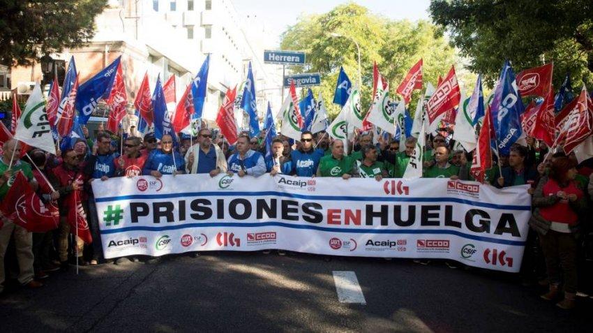 """Acaip critica al PSOE por """"criminalizar"""" a los trabajadores de prisiones"""