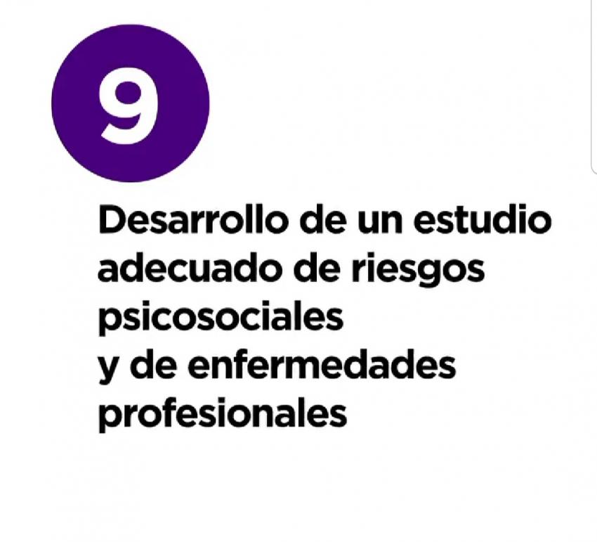 12 razones y medidas - 9. Estudio enfermedades profesionales