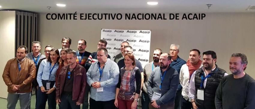 Comunicado congreso extraordinario de Acaip