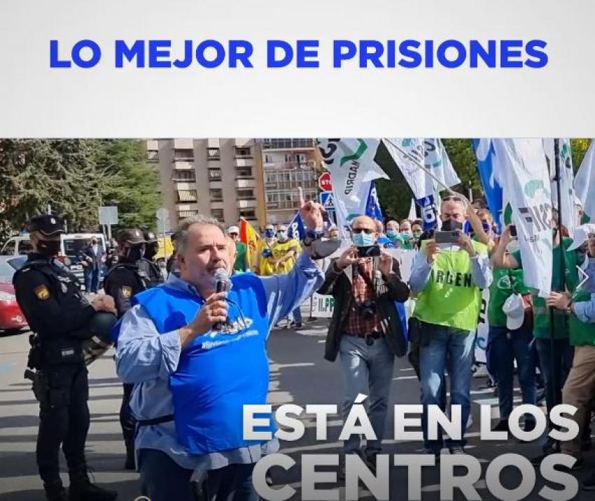 Video concentracion representantes sindicales en Cuenca