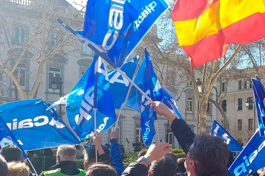 Celebrada la concentración frente al Tribunal Supremo