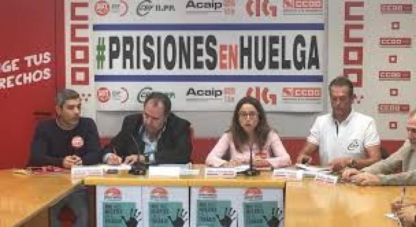 Sindicatos de Prisiones se niegan a negociar mejoras si no hay alza salarial