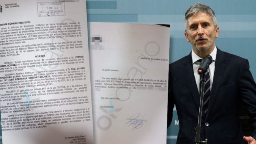 Marlaska expedienta al funcionario de prisiones que denunció acoso laboral por ser homosexual