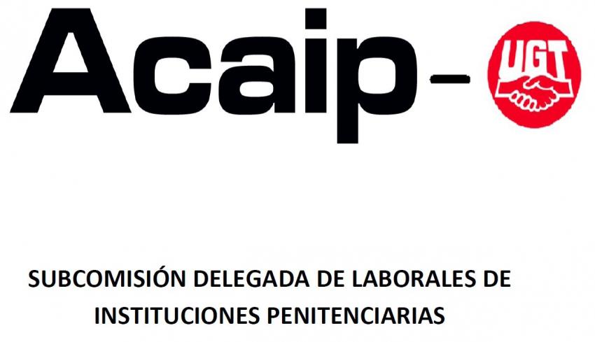SUBCOMISIÓN DELEGADA DE LABORALES DE INSTITUCIONES PENITENCIARIAS