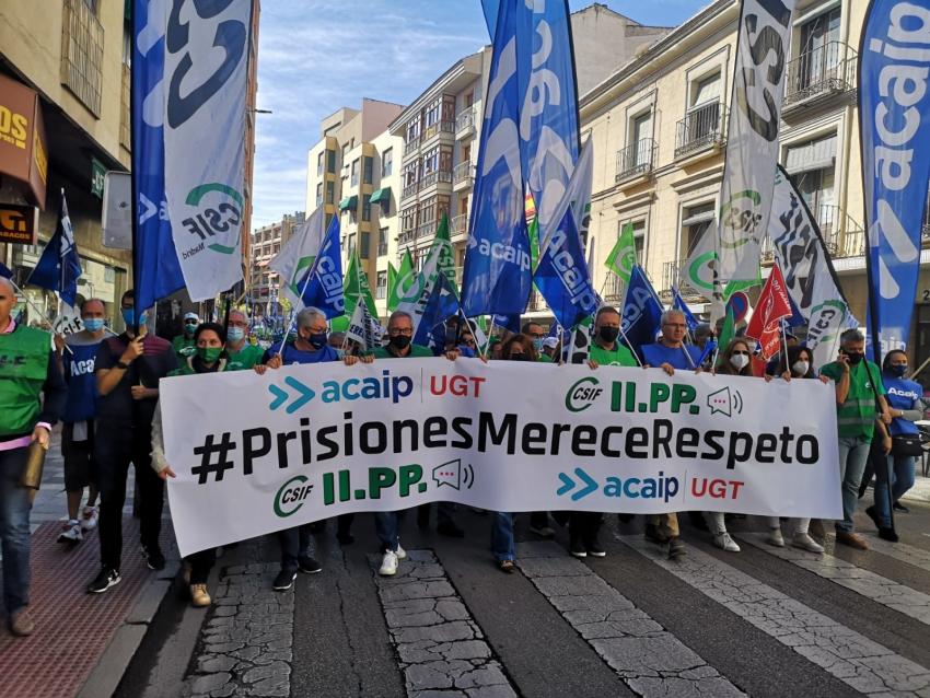 Reportaje gráfico manifestación en Cuenca (20/10/21)